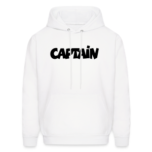 Captain T-Shirt (White) Men - Men's Hoodie