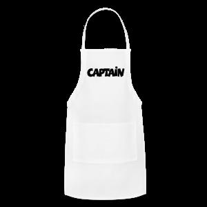 Captain T-Shirt (White) Men - Adjustable Apron