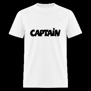 Captain T-Shirt (White) Men - Men's T-Shirt