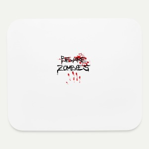 Beware Zombies - Mouse pad Horizontal