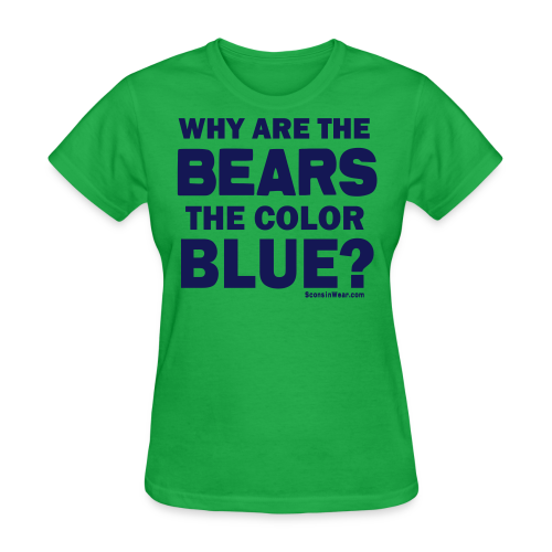 Why the Bears are Blue - Women's T-Shirt