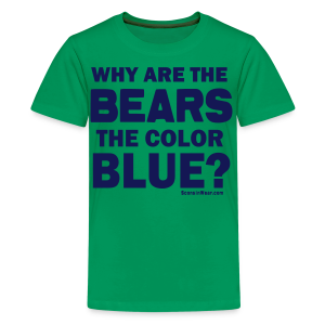 Why the Bears are Blue - Kids' Premium T-Shirt