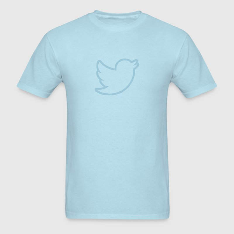 Twitter Bird Border T-Shirts - Men's T-Shirt