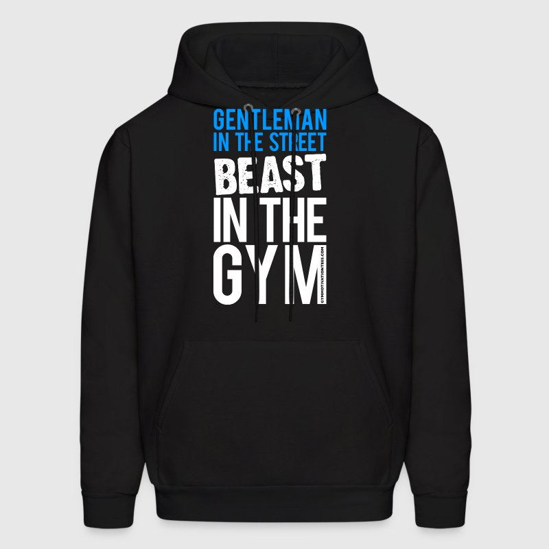 Beast in the Gym - Gym Motivation Hoodies - Men's Hoodie