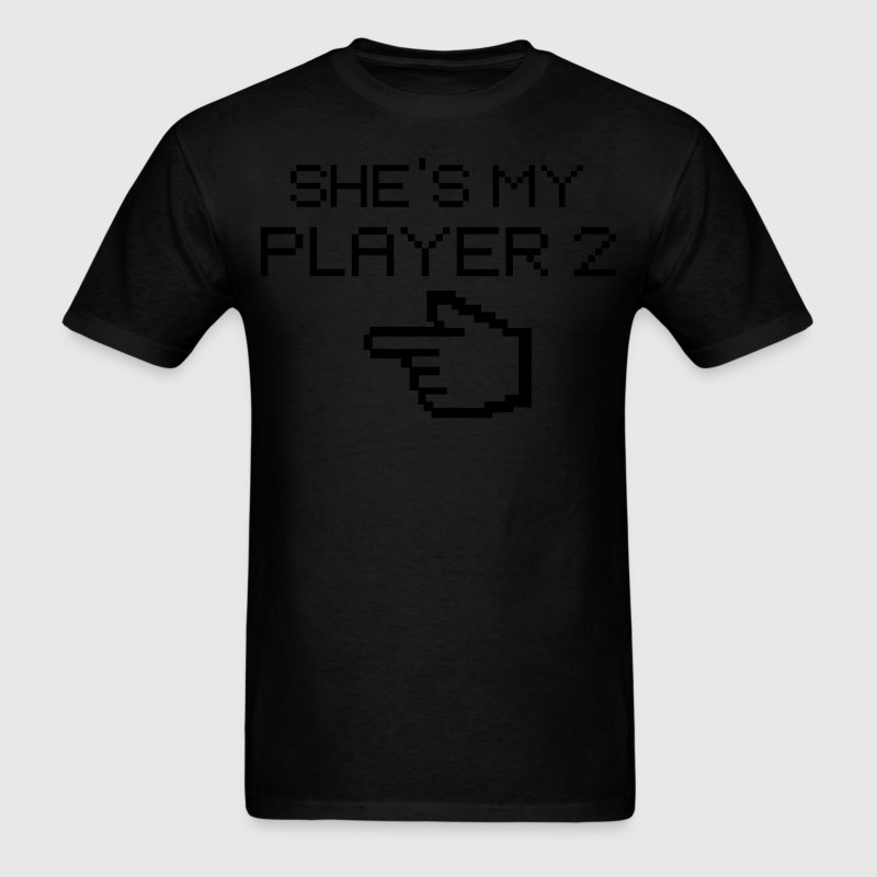 She's my player2 - Men's T-Shirt