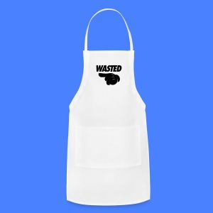 Wasted Pointing Left Phone & Tablet Covers - Adjustable Apron