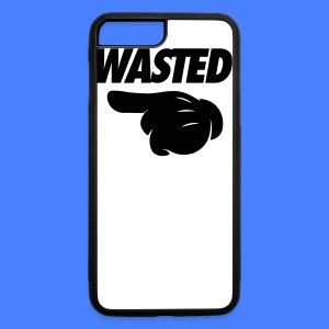 Wasted Pointing Left Phone & Tablet Covers - iPhone 7 Plus/8 Plus Rubber Case