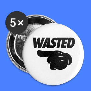 Wasted Pointing Left Phone & Tablet Covers - Small Buttons