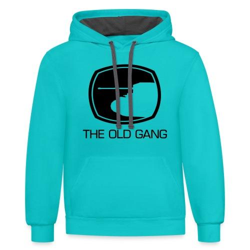 The Old Gang - Contrast Hoodie