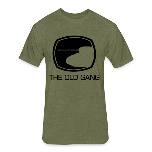 The Old Gang - Fitted Cotton/Poly T-Shirt by Next Level