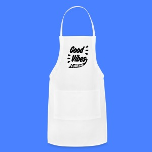 Good Vibes Phone & Tablet Covers - Adjustable Apron