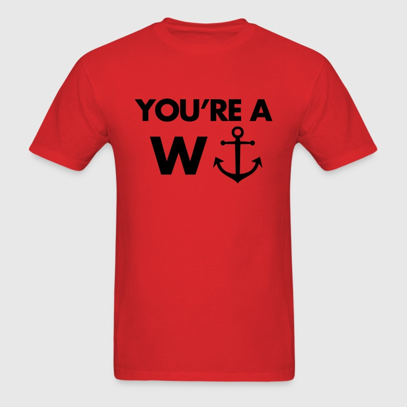 W-Anchor T-Shirts - Men's T-Shirt