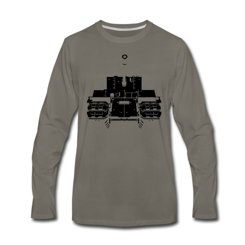 TOG II* Brown - Men's Premium Long Sleeve T-Shirt
