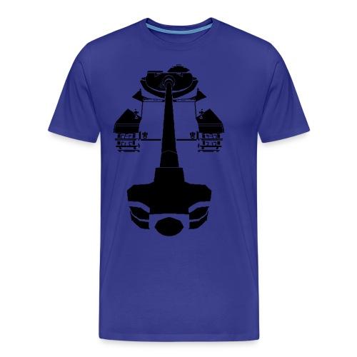 AMX 50 100 Blue - Men's Premium T-Shirt