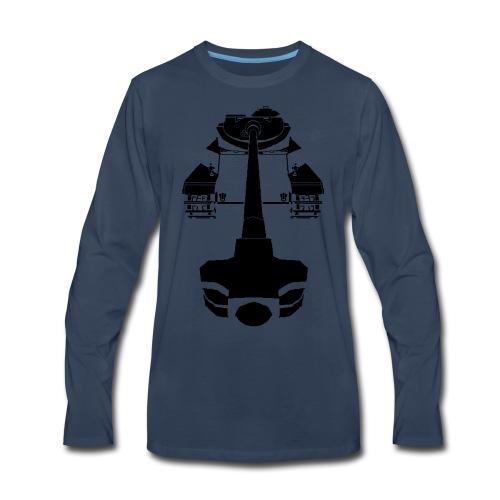AMX 50 100 Blue - Men's Premium Long Sleeve T-Shirt