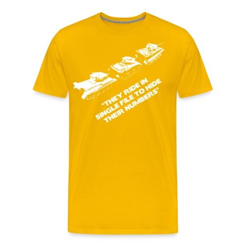 Wisdom of the Lemmings - Men's Premium T-Shirt