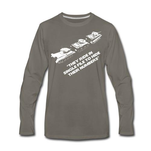 Wisdom of the Lemmings - Men's Premium Long Sleeve T-Shirt