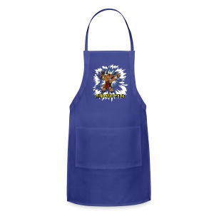 Mini Minotaur (Dark Shirt Design) - Adjustable Apron