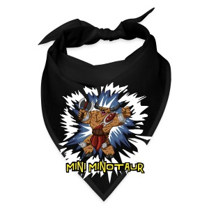 Mini Minotaur (Dark Shirt Design) - Bandana