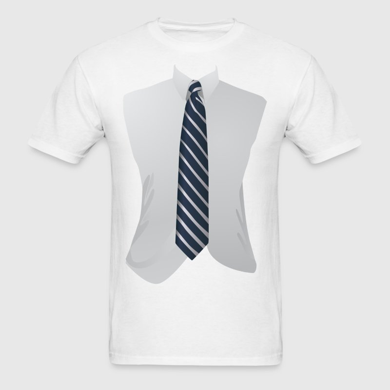 Business Suit - Tie Tee - Professional T-Shirts - Men's T-Shirt
