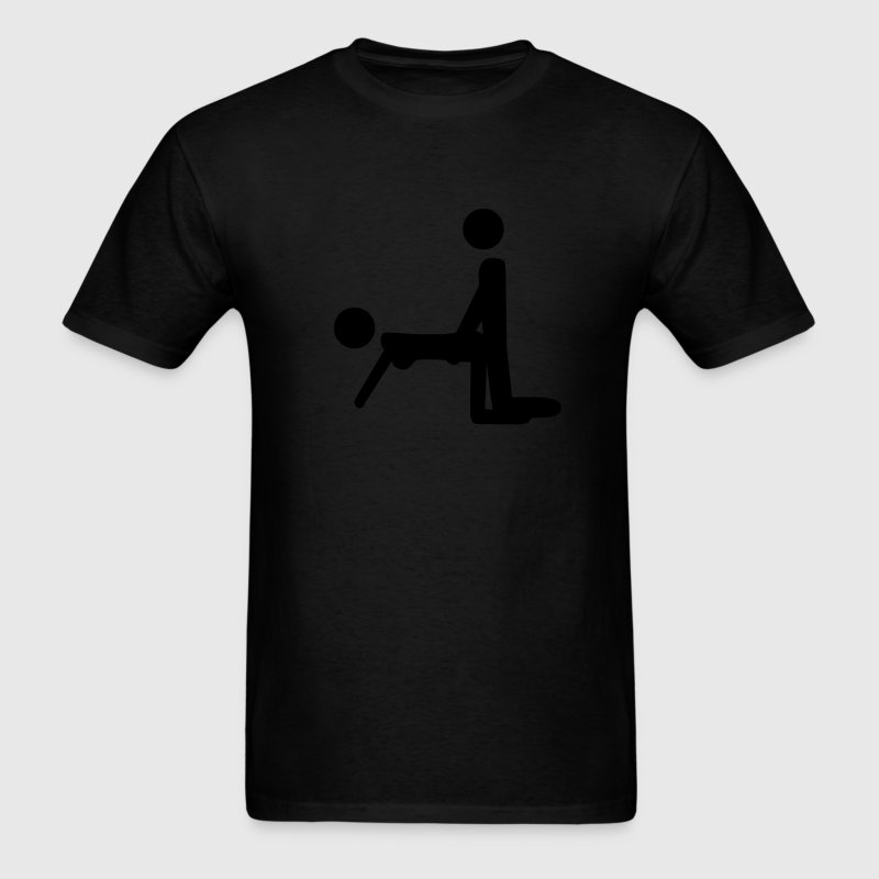 Stick People Sex T-Shirts - Men's T-Shirt