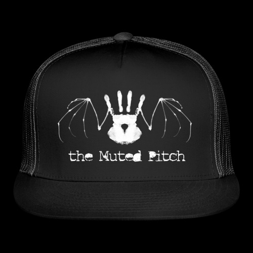 tMP White Bat - Trucker Cap