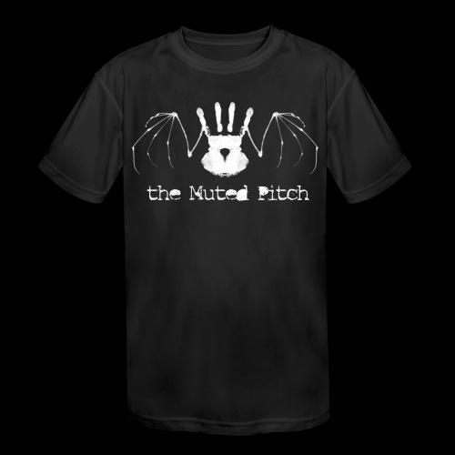 tMP White Bat - Kids' Moisture Wicking Performance T-Shirt