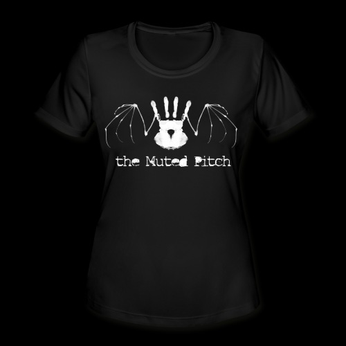 tMP White Bat - Women's Moisture Wicking Performance T-Shirt