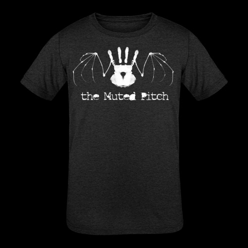 tMP White Bat - Kids' Tri-Blend T-Shirt
