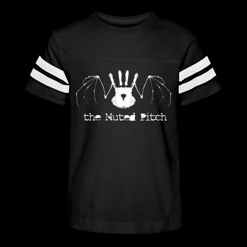 tMP White Bat - Kid's Vintage Sport T-Shirt