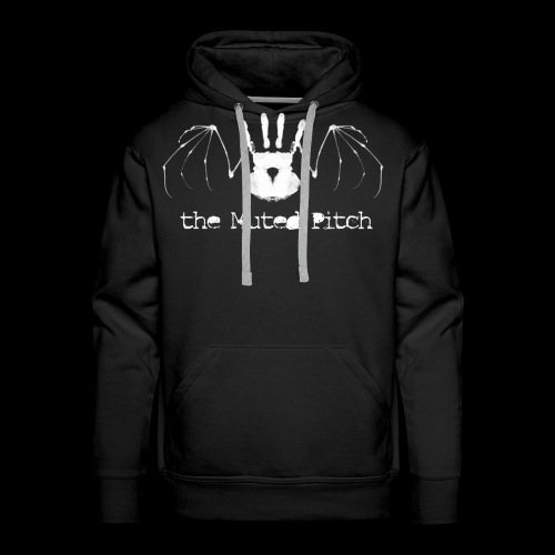 tMP White Bat - Men's Premium Hoodie