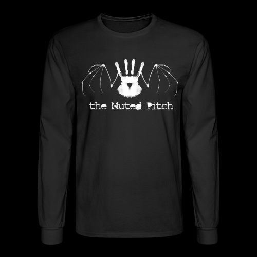tMP White Bat - Men's Long Sleeve T-Shirt