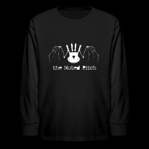 tMP White Bat - Kids' Long Sleeve T-Shirt
