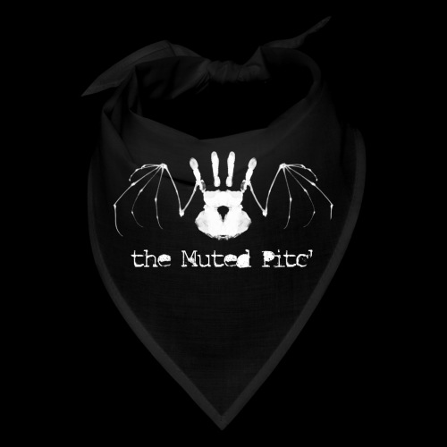 tMP White Bat - Bandana