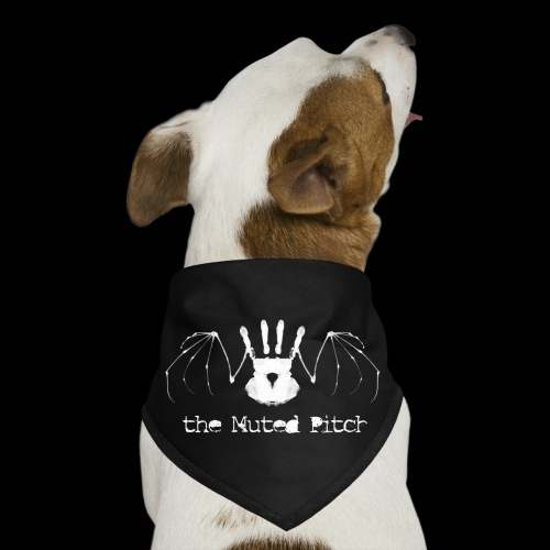 tMP White Bat - Dog Bandana