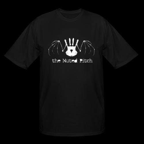 tMP White Bat - Men's Tall T-Shirt