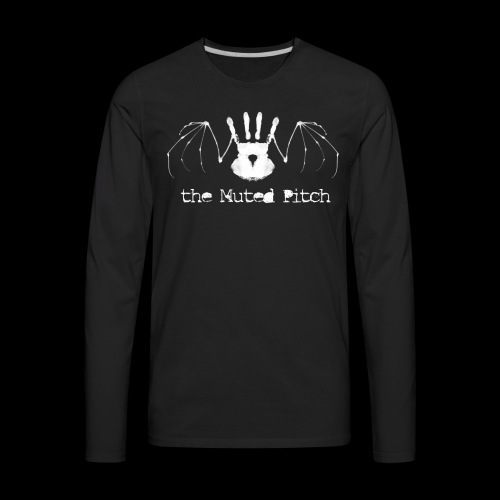 tMP White Bat - Men's Premium Long Sleeve T-Shirt