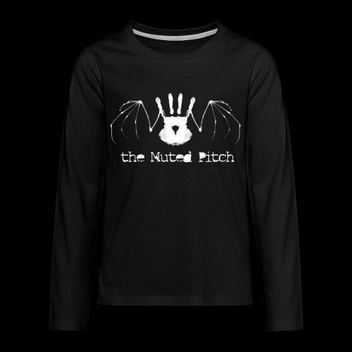 tMP White Bat - Kids' Premium Long Sleeve T-Shirt