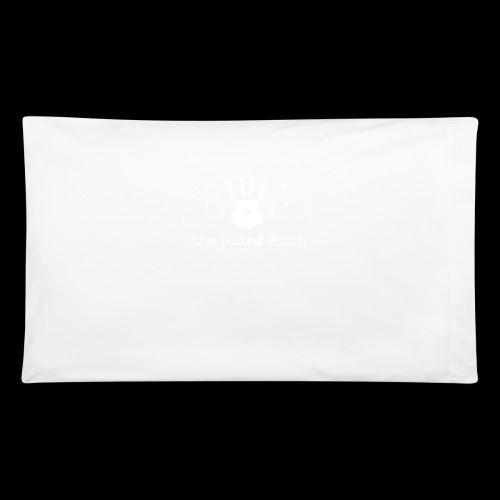 tMP White Bat - Pillowcase 32'' x 20''