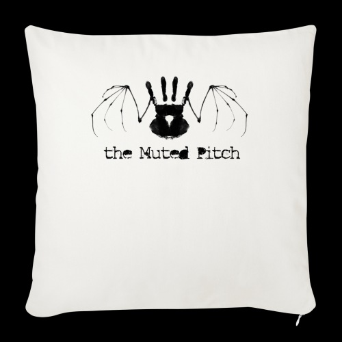 tMP Black Bat - Throw Pillow Cover