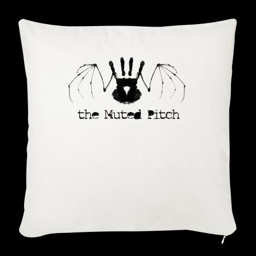 tMP Black Bat - Throw Pillow Cover