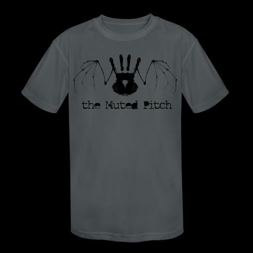 tMP Black Bat - Kids' Moisture Wicking Performance T-Shirt