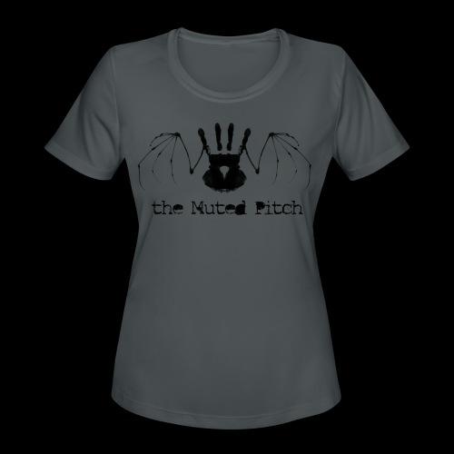 tMP Black Bat - Women's Moisture Wicking Performance T-Shirt