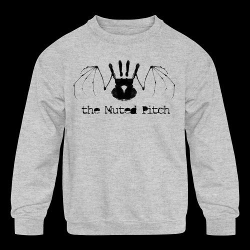 tMP Black Bat - Kids' Crewneck Sweatshirt