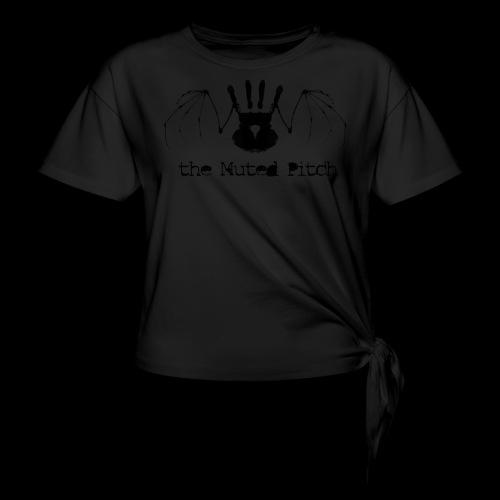 tMP Black Bat - Women's Knotted T-Shirt