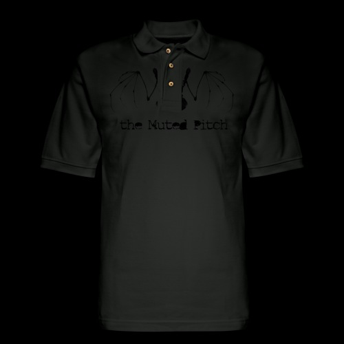 tMP Black Bat - Men's Pique Polo Shirt