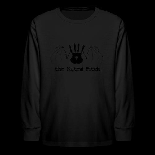 tMP Black Bat - Kids' Long Sleeve T-Shirt