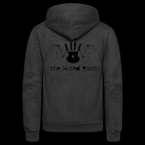 tMP Black Bat - Unisex Fleece Zip Hoodie
