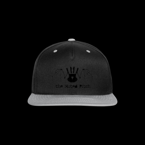 tMP Black Bat - Snap-back Baseball Cap