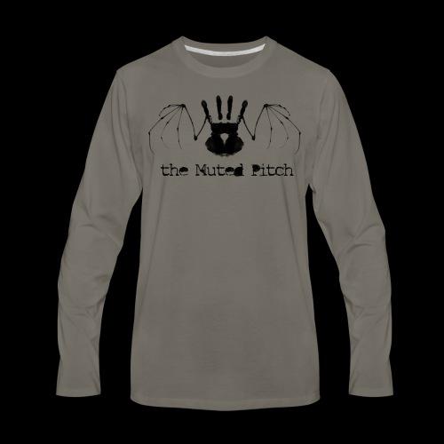 tMP Black Bat - Men's Premium Long Sleeve T-Shirt